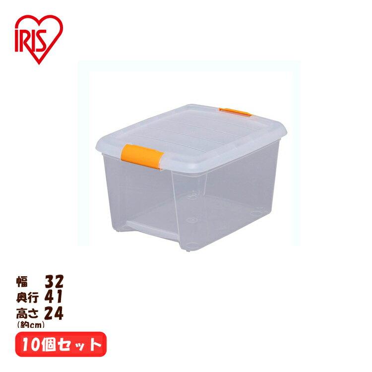 高い所BOX TB-43 アイリスオーヤマ 衣類収納ケース 衣装ケース 収納ボックス 押入れ プラスチック フタ付き[cpir]