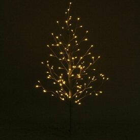 LEDブランチツリー 120CM W/スイッチ ホワイト 16652 送料無料 クリスマスツリー ブランチツリー LED LEDライト イルミネーション クリスマス Xmas 北欧 不二貿易 【D】