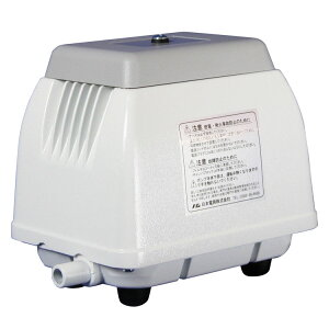 【ポイント5倍!】浄化槽ポンプ 30L ホワイト NIP-30L 送料無料 エアーポンプ 浄化槽ブロアー 浄化槽ブロワー 浄化槽エアポンプ 日本電興 【D】