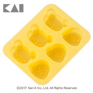 シリコーンカップケーキ型 リラックマ 000DN0203製菓 グッズ かわいい Rilakkuma 貝印 【D】