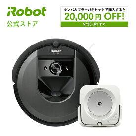 【P10倍】[セット割引対象商品]『ルンバ i7 ブラーバジェット m6 セット』アイロボット irobot / ロボット掃除機 床拭きロボット スマートマッピング 掃除 掃除機 クリーナー 水拭き Alexa対応【送料無料】【日本正規品】【メーカー保証】※P10 9/20 23:59まで