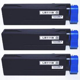 富士通 FUJITSU互換 LB111B リサイクルトナー 3個セット XL-4340用 大容量タイプ 送料無料