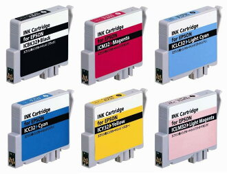Epson IC6CL32 ◆ high quality compatible country in manufacturer product set 6 colors