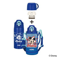 サーモス水筒子供人気おしゃれ2ウェイ直飲みコップ付き600mlステンレスボトル保冷保温マイボトルディズニーミッキーミッフィー