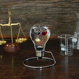 クーポン発行中 楽天1位 映画「ラプラスの魔女」小道具協力 ガリレオ温度計 サイエンス 科学 ガリレオ ガラスフロート温度計 電球 ひらめき 333-208 Fun Science 温度計 インテリア ガラス おしゃれ 浮き球 しずく