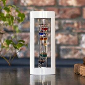 クーポン発行中 ガラスフロート温度計S ガリレオ温度計 サイエンス 科学 ガリレオ ホワイト 温度計 インテリア ガラス おしゃれ 浮き球 Fun Science 333-205