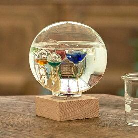 クーポン発行中 ガリレオ温度計 ガラスフロート温度計 ガラスフロート温度計 ドーム L 333-210 サイエンス 科学 ガリレオ 温度計 インテリア ガラス おしゃれ 浮き球 木製 クリスマス