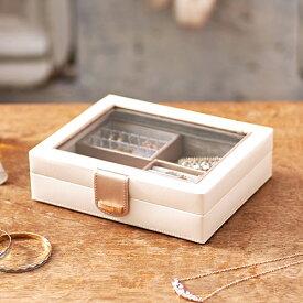 クーポン発行中 小物収納 小物入れ ジュエルケース 240-652 ジュエリーケース アクセサリーケース 宝石箱 収納 指輪 ピアス ネックレス ギフト クリスマス おすすめ