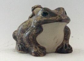 蛙 (子1匹) 10号信楽焼 陶器 置物 かえる彩り屋