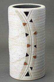 傘立て 陶器 信楽焼 トライアングル 傘立 (S) 楽彩り屋
