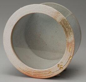 白金彩丸水槽 (小)信楽焼 金魚鉢 水槽 陶器 置物 めだか鉢 水鉢彩り屋