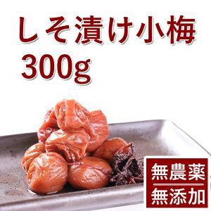 梅干し 無添加 無農薬 紀州 しそ漬小梅 300g 熊野のご褒美 無化学肥料 梅干 ご自宅用にもお歳暮などのギフト 贈り物にもおすすめです。送料無料彩り屋 お急ぎ
