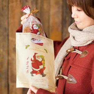 クリスマス アンティークサンタ クリスマスラッピング袋 クリスマスラッピングバッグ ポリ袋 ビニールバッグ ビニール袋 手提げ袋 手提げバッグ クリスマスラッピング ラッピング袋 ラ