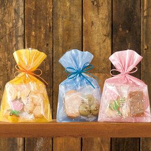 ドットOPPギフトバッグ 透明袋 少量 ドット柄 水玉 ドット OPPギフトバッグ OPP袋 ラッピング袋 ラッピングバッグ ポリ袋 平袋 クリアバッグ ビニールバッグ ビニール袋 柄 デザイン 透明 袋