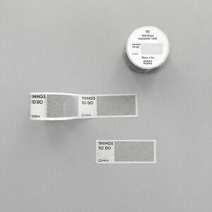 【KNOOPWORKS/クノープワークス】002 THINGS TO DO マスキングテープ 25mm幅 todo テープ マステ maskingtape Masking tape washitape シール テープ stationery 書けるマスキングテープ スケジュール 管理 保管 整理