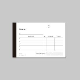 【KNOOPWORKS/クノープワークス】INVOICE(英・複写式)複写 ノーカーボン 請求書 納品書 納品伝票 領収書 伝票 送り状 仕切り状 仕入れ書 受領書 受取 レシート 領収書 見積書 入金伝票 出金伝票 receipt invoice ラッピング用品 文具