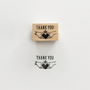 【KNOOPWORKS/クノープワークス】THANKYOU スタンプ ありがとう 感謝 お礼 スタンプ ミニスタンプ Stamp はんこ ラッピング コラージュ スクラップ 手紙 便箋 封筒 カード 紙 タグ 日記 手帳 ワンポ