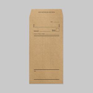 【KNOOPWORKS/クノープワークス】 5mm方眼 CASH ENVELOPE 月謝袋 方眼 クラフト封筒 管理袋 袋 集金袋 整理袋 予算袋 管理 整理 予算 集金 貯金 袋分け おこづかい袋 家計簿 スケジュール管理 スケジ