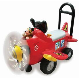Kiddieland キディランド 1歳 ディズニー 乗用玩具 ミッキーエアプレイン のりもの 飛行機