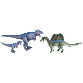 ダイナソー おもちゃ 室内遊び 3歳 アニア AA-03 激闘!肉食恐竜ライバルセット