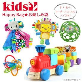 ベビー ベビートイ おでかけトイ 室内遊び ギフト 出産祝い 福袋 0か月 1歳半 1歳6ヶ月 Kids2(キッズツー) Happy Bag ハッピーバッグ おたのしみ福袋