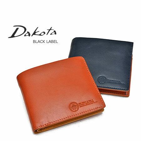 ダコタ 財布 二つ折り Dakota メンズ ブラックレーベル ステファノ 0625000 ブランド