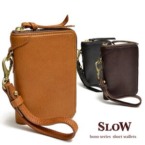 スロウ[SLOW]ボーノ[bono]二つ折財布333S11405