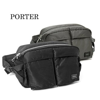 Yoshida Kaban Porter tanker 2way waist bags body bag 622-08302