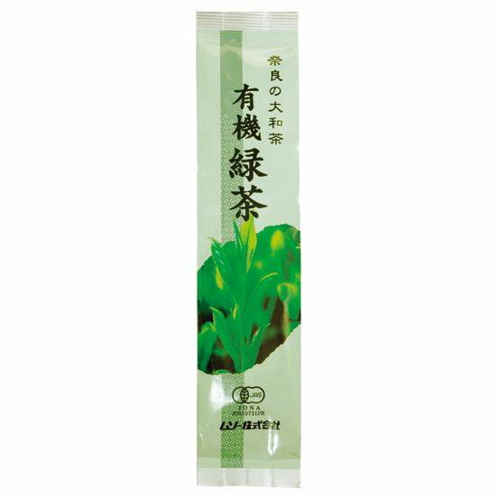 奈良の大和茶・有機緑茶 100g ムソー
