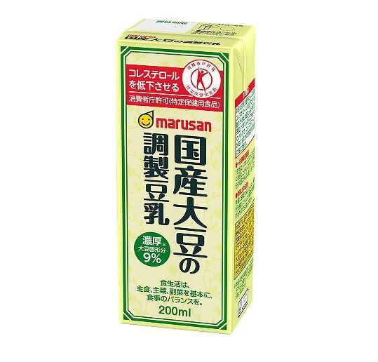 国産大豆の調製豆乳 200ml×12個セット マルサン