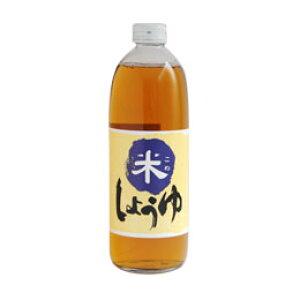 ◆米のみで作った醤油 小麦、大豆アレルギーの代替食材として◆ 米しょうゆ 500ml 大高醤油