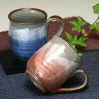 色銀彩ペアマグカップ九谷焼