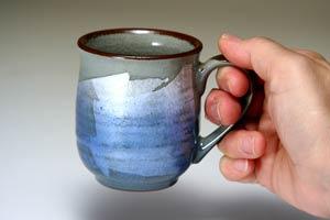 色銀彩ペアマグカップ九谷焼和食器