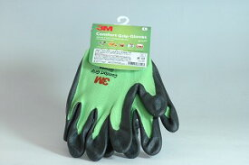 3M コンフォートグリップ グリーン Lサイズ 全長22.5cm 手のひら周り 20.5cm 中指長さ7.5cm