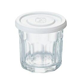 【 1ケース6個組 】フランス製 アルク 強化ジャムポット Mホワイト [ARC/ジャムジャー/蓋付ガラス瓶]