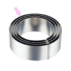 ホワイトサム 18-8ジャンボかみ合せ丸セルクル(イングリッシュマフィン) 20個セット Φ100×H35