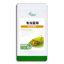【最大5%OFFクーポン有】冬虫夏草 約1か月分 C-181 送料無料 リプサ Lipusa サプリ サプリメント アミノ酸