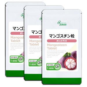 【公式】マンゴスチン粒 約1か月分×3袋 T-800-3 送料無料 リプサ Lipusa サプリ サプリメント ポリフェノール