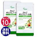 【ポイント10倍】 りんごポリフェノール粒 約3か月分×2袋 T-621-2 送料無料 リプサ Lipusa サプリ サプリメント