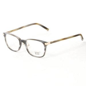 【商品到着後レビュー記入でメガネのシャンプ−プレゼント】MONT BLANC モンブラン メガネ MB0571-D 063 54 メンズ