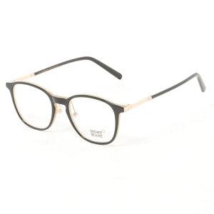 【商品到着後レビュー記入でメガネのシャンプ−プレゼント】MONT BLANC モンブラン メガネ MB0574-D 005 50 メンズ