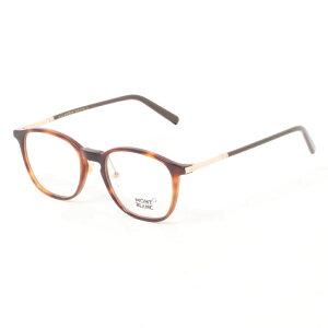 【商品到着後レビュー記入でメガネのシャンプ−プレゼント】MONT BLANC モンブラン メガネ MB0574-D 052 50 メンズ