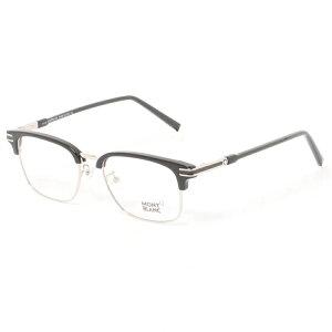 【商品到着後レビュー記入でメガネのシャンプ−プレゼント】MONT BLANC モンブラン メガネ MB0669-F 001 53 メンズ