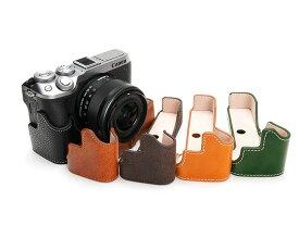 TP Original Canon EOS M6 Mark ii M2 専用 ブルタイプ 本革 ボディケース