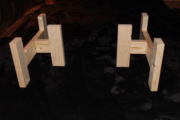 B-07◆ 木製脚 テーブル用脚 一枚板脚 座卓用 ベンチ用 椅子用 パーツ DIY ローテーブル センターテーブル用 無垢 無塗装