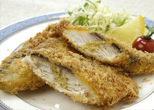 脂の乗った白身魚の「さわらのフライ」