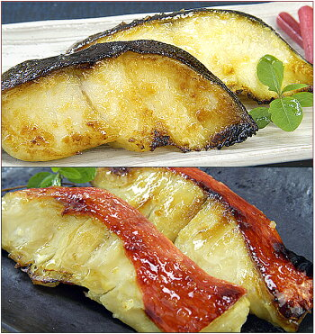 人気の銀鱈・金目鯛西京漬セット