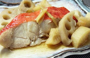 レンジで簡単金目鯛煮魚