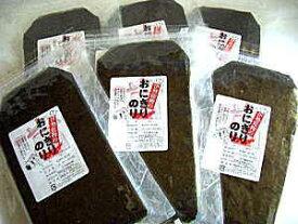スッポリ♪包まれる贅沢な大きさ!おにぎり用に上質な海苔を半分に!おにぎり海苔30枚×6袋-【共同購入価格】【送料無料】