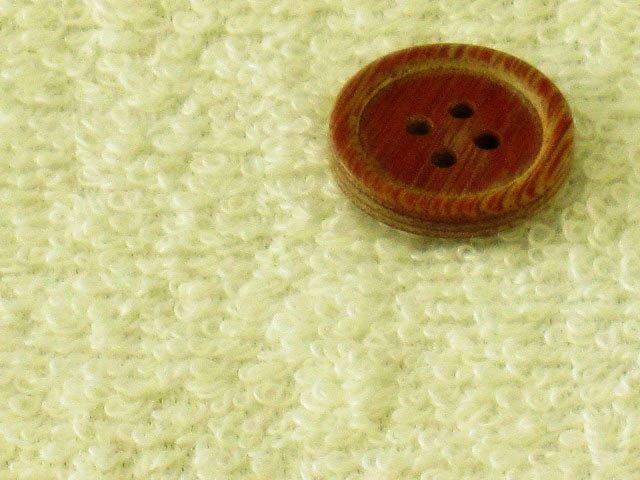 生地 50cm単位 タオル地 無地(クリームイエロー) 21100-121 [在庫共有品] 布 綿 -YST.